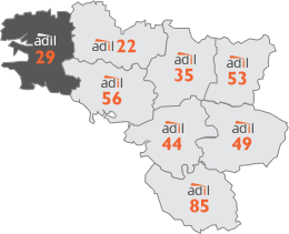 Carte départements